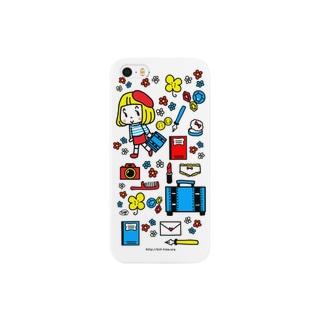 おでかけフラワー Smartphone cases