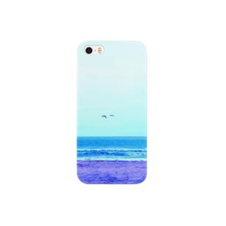 海と鳥さん Smartphone cases