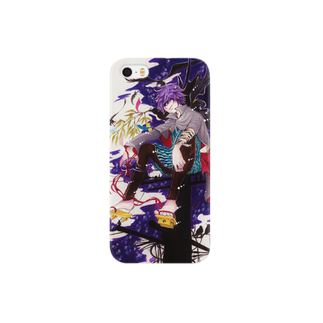 松(絵描き)の堕落シテ烏 Smartphone cases