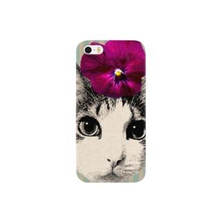 パンジー・マロン Smartphone cases