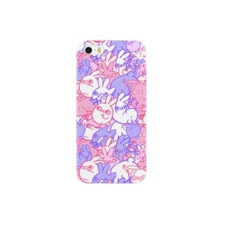 うさ虫(ミックスベリーver.) Smartphone cases