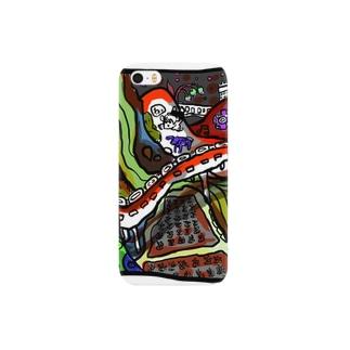 そらとぶかやぶきちゃん Smartphone cases