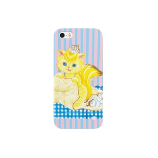 iPhone5用 [フルーツ猫・Sweetsシリーズ] Crepe house MUSA Smartphone cases