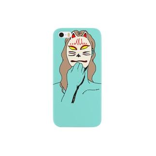 メギツネ Smartphone cases
