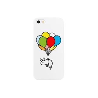 風船うさぎ Smartphone cases