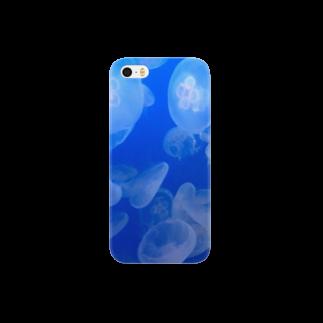 博物雑貨 金烏のクラゲ Smartphone cases