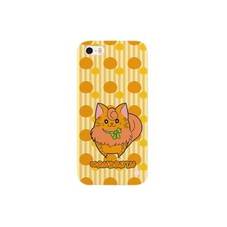 iPhone5用 [フルーツ猫シリーズ]みかんの猫・マンダリン Smartphone cases