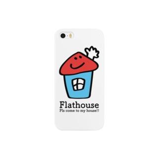 Flathouse/フラットハウスくん Smartphone cases