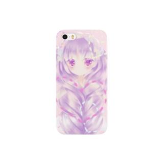 みつあみちゃん Smartphone cases