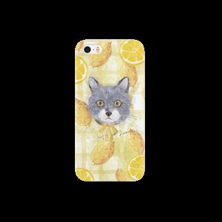 あめりすの猫と檸檬(Kaķis un Lemon) Smartphone cases