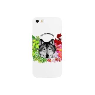草食系肉食動物ver.オオカミ Smartphone cases