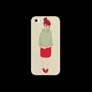 もずくの女の子 Smartphone cases