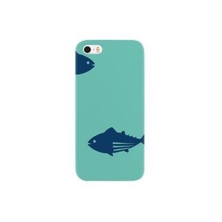 【hitocoto】マグロ Smartphone cases