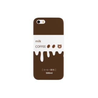 しゅーふるーるのまろやかなミルクコーヒー Smartphone cases