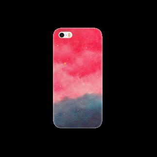 molの夕焼け空 スマートフォンケース