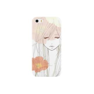 yuki-nのポピーガール Smartphone cases