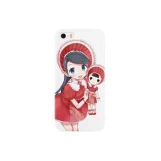 文化人形ちゃん Smartphone cases