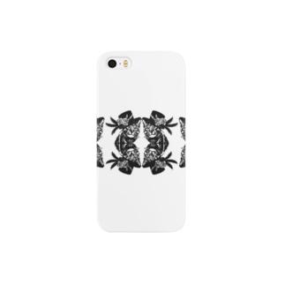 【切り絵】マジックキャット4 Smartphone cases