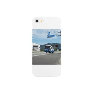 道の駅たのうらを走る産交バス Smartphone cases