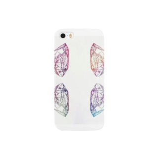 pink crystal Smartphone cases