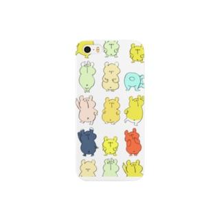 しろくまばかり(iPhone 5/5s) Smartphone cases