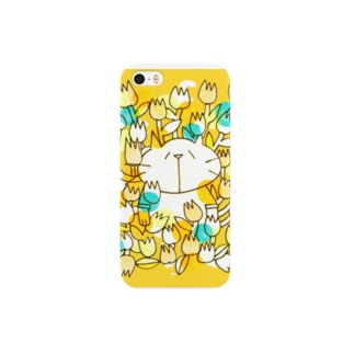 お花畑とネコ(iPhone 5/5s) Smartphone cases