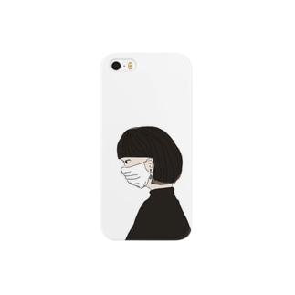潔癖女 Smartphone cases