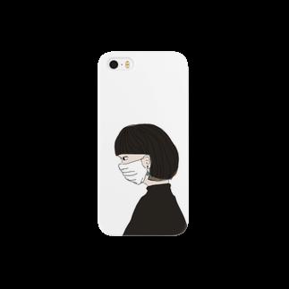 菊地 環心の潔癖女 Smartphone cases