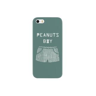 PEANUTS BOY パンツ (葉) Smartphone cases