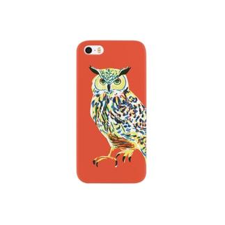 ミミズク iPhone5/5s Smartphone cases
