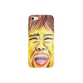 笑顔、その1。 Smartphone cases