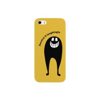 とりあえず笑っとけ Smartphone cases