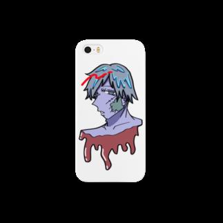 Self satisfactionのZOMBIE-Boy Smartphone cases