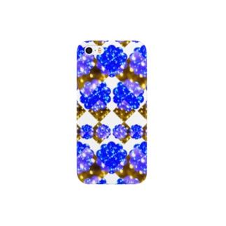 brilliant bright blue-鮮やかな明るい青- Smartphone cases