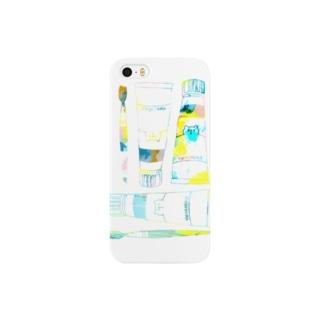 絵の具セット(iPhone 5/5s) Smartphone cases