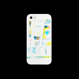 shirokumasaanの絵の具セット(iPhone 5/5s) Smartphone cases