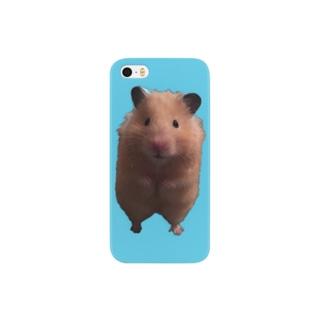 ポンちゃん直立 Smartphone cases