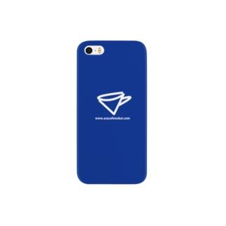 朝カフェの会 iPhoneケース Smartphone cases