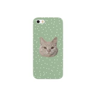 猫のチロルさん Smartphone cases