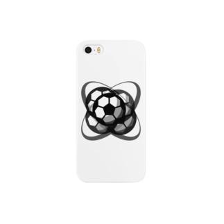 サッカーボール(ブレ球) Smartphone cases