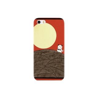 月みてパンダ Smartphone cases