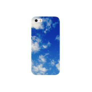 持ち運べる青空 Smartphone cases