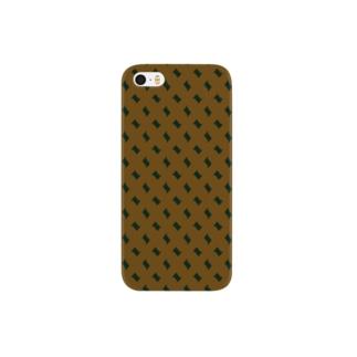 チョコレートカラー Smartphone cases