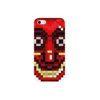 スリランカ仮面 Smartphone cases