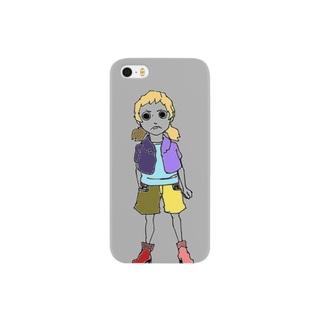 強気女子 Smartphone cases