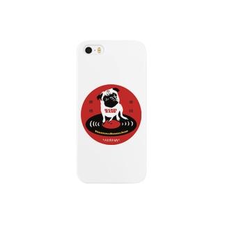 HANZI BAND×ハンサムレコードロゴ Smartphone cases
