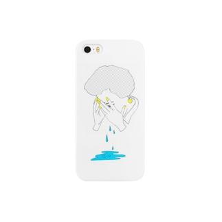 さめざめ Smartphone cases