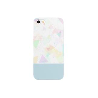 ほわほわ三角 Smartphone cases