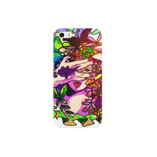 Growsea(グロウシー)の花の髪 Smartphone cases