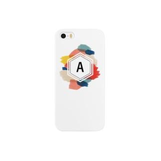 iroiroイニシャル Smartphone cases